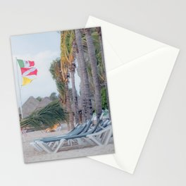 Resting Palm Trees Stationery Cards