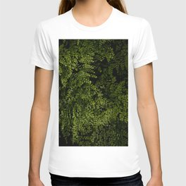 Small leaves T-shirt