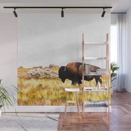 Go West Wall Mural