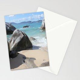 Scenic Beach at The Baths on Virgin Gorda, BVI Stationery Cards