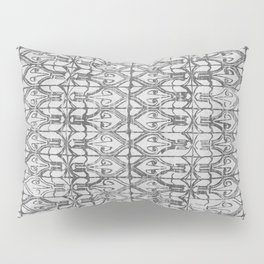 Art Deco Tiles in Grey Pillow Sham