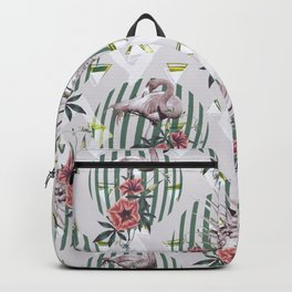 Vintage flamingos Backpack