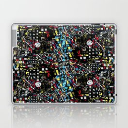 The Queue To Hell On Earth - Unavoidable Life Process Laptop & iPad Skin