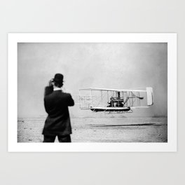Wright Brothers Art Print