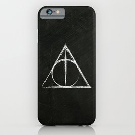 Deathly Hallows (Harry Potter) iPhone Case