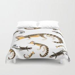 Nandinia Pattern (c) 2017 Duvet Cover