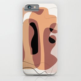 Layer after layer of abstract iPhone Case
