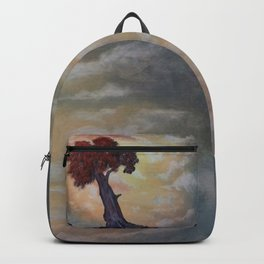 Loneliness Of Nature Backpack