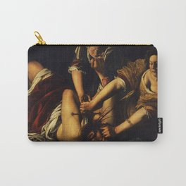 JUDITH BEHEADING HOLOFERNES - GENTILESCHI Carry-All Pouch