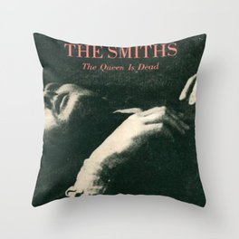 The Smiths - The Queen Is Dead Throw Pillow