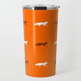 Orange Foxes! Travel Mug