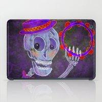 skeleton iPad Cases featuring Skeleton by Rich Green