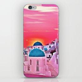 Blue Dooms iPhone Skin