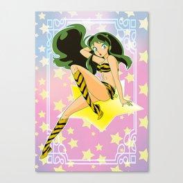 Urusei Yatsura Canvas Print