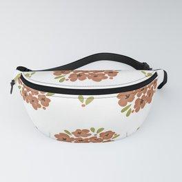 Pattern: Pinky Flowers Fanny Pack