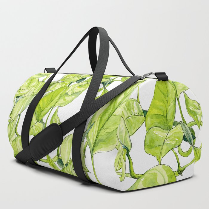Devils Ivy Illustration Duffle Bag