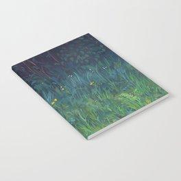 Gradient of Grass Notebook