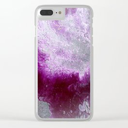 God's hands Clear iPhone Case