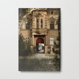 Old architecture in Subotica, Serbia / Fall / Autumn Metal Print
