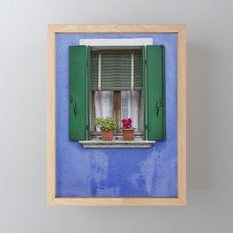 Window Framed Mini Art Print