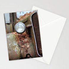 Vintage headlight Stationery Cards