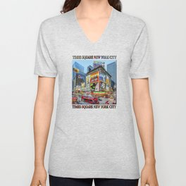Times Square III Special Edition I Unisex V-Neck