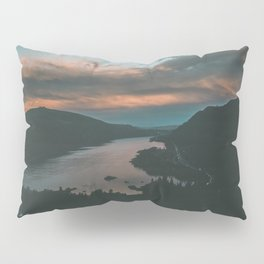 Columbia River Gorge Sunset Pillow Sham