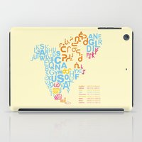 writing iPad Cases featuring North America ~ Writing Sistems by Stop::mashina ~Runes