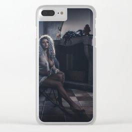 Tu m'as promis V Clear iPhone Case