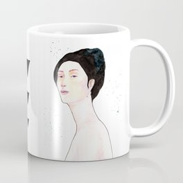Watercolor - Portrait Coffee Mug