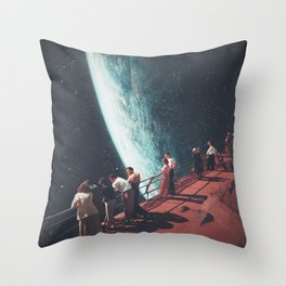 Missing the ones we Left Behind Throw Pillow