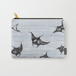 Manta rays in flight Carry-All Pouch