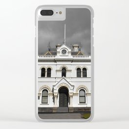 Clunes Town Hall Dramatic Clear iPhone Case