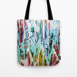 Paint Drip Tote Bag