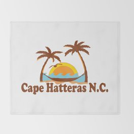 Cape Hatteras - North Carolina. Throw Blanket