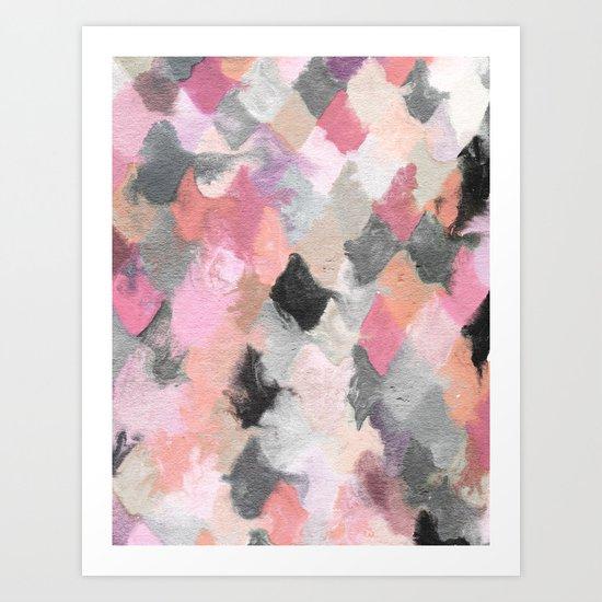 Summer Pastels Art Print