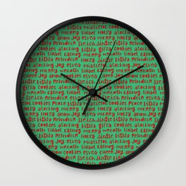 Christmas thoughts Wall Clock