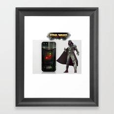 I-Vader Framed Art Print