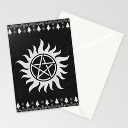 Supernatural Holiday Sweater Stationery Cards