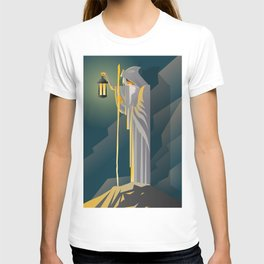 hermit tarot card T-shirt