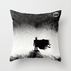 BRUCE WAYNE RISES  Throw Pillow