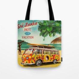 Hippie van — Surf, Beach Tote Bag