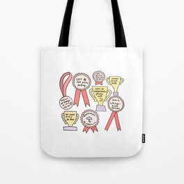 Little Victories Tote Bag