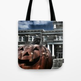 Somebody's Coming... Tote Bag