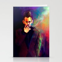 panic at the disco Stationery Cards featuring Panic! by Christi Lu