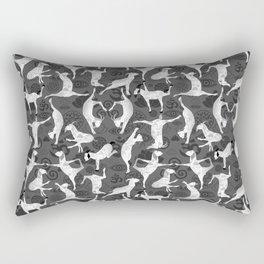Yoga Goats Doing Goat Yoga Rectangular Pillow