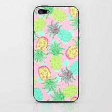 Pineapple Pandemonium Tropical Spring iPhone & iPod Skin