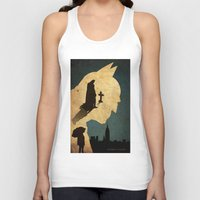 bat man Tank Tops featuring BAT MAN  by Edmond Lim