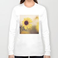 sunflower Long Sleeve T-shirts featuring Sunflower by Jessica Torres Photography
