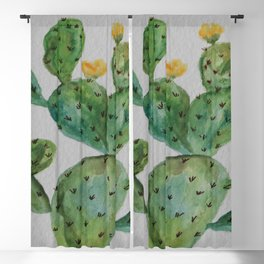 Desert Garden Botanic Blackout Curtain